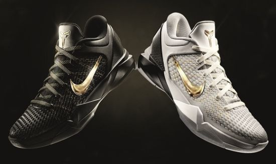 """Lebron Jamesand Kobe Bryant will be wearing Nike's new line of ultra  high-end basketball shoes, fitted with carbon-fiber and Kevlar."