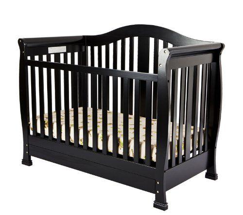 Dream On Me Addison Crib Black Dream On Me Http Www Amazon Com Dp B00c7veegg Ref Cm Sw R Pi Dp 97yltb0vw0y4wjcj Cribs Convertible Crib Dream On Me