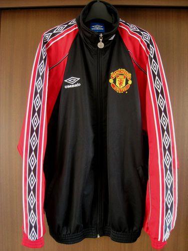 Manchester United Track Suit Jacket Umbro 98 99 Treble Adidas Shirts Jersey Vtg Ebay Manchester United Jacket Adidas Shirt Manchester United