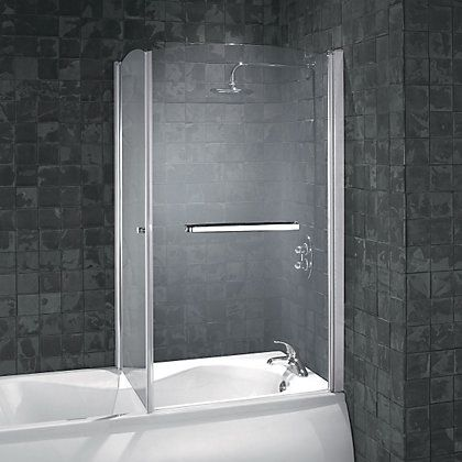 The Aqualux Over Bath Shower Door Fits Together With Our Side Panel To Create An Enclosed