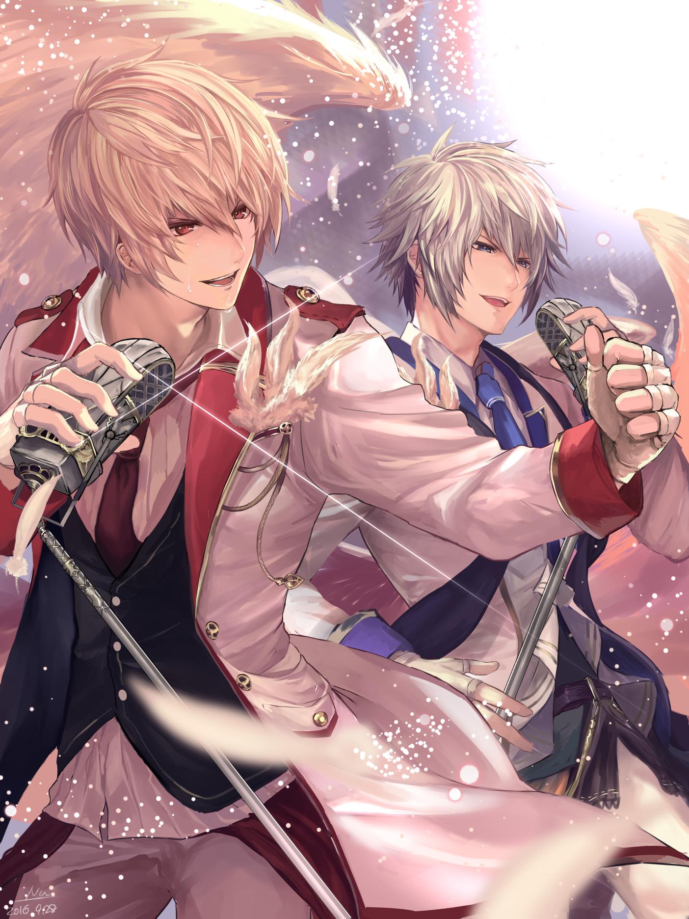 Картинки по запросу lucio and sandalphon | boys anime | pinterest
