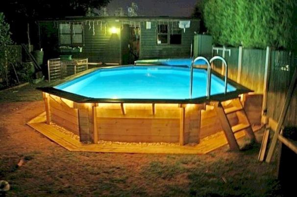 Palettenpool #Palettenpool #pool #poolideen #ideen #garten ...