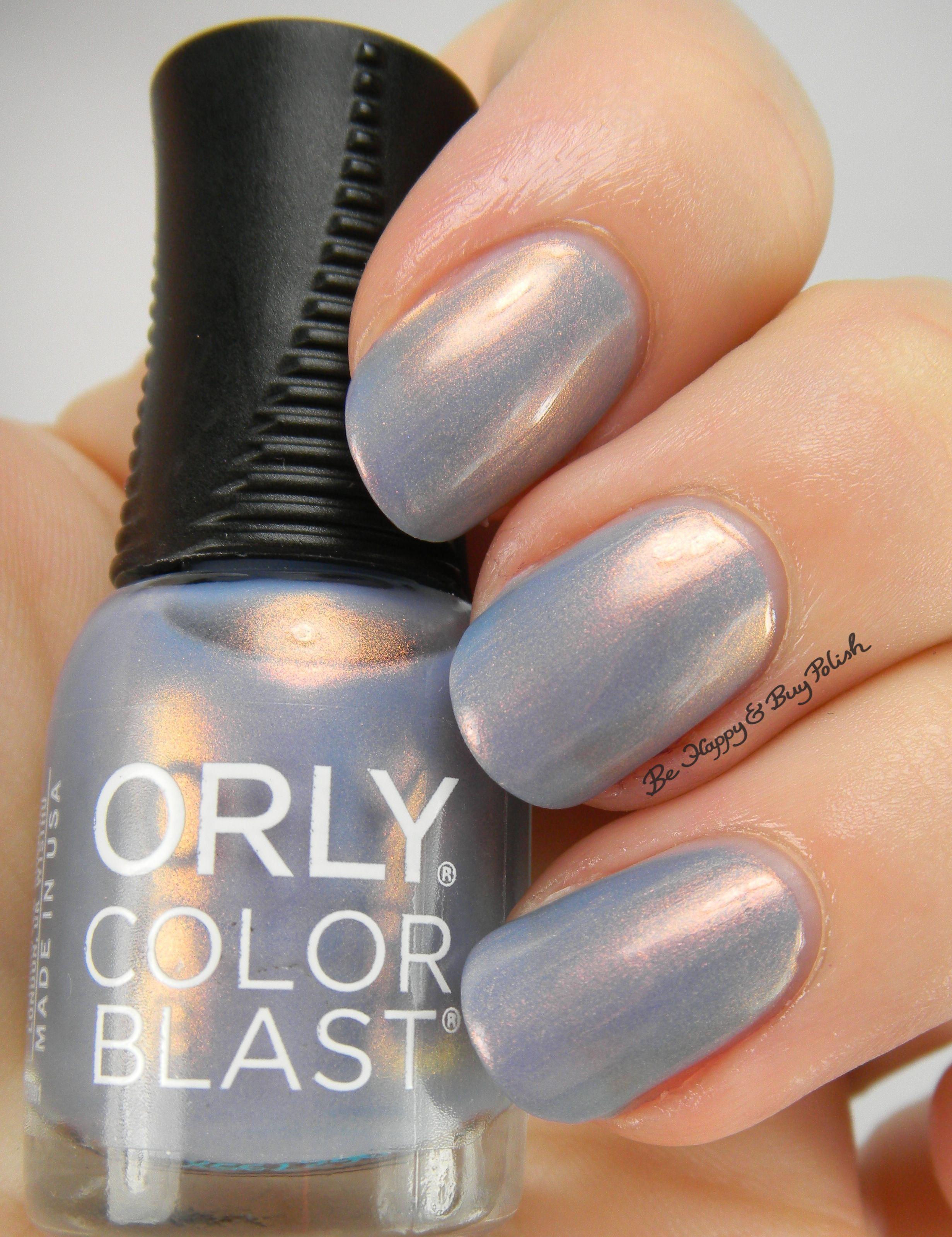 orly color blast cinderella nail
