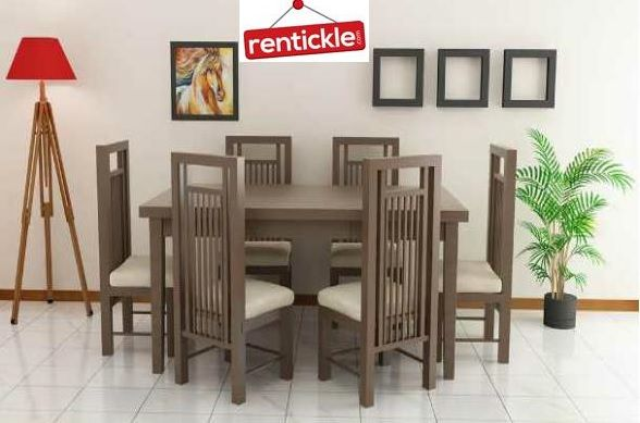 Dining Table On Rent Rentickle Offer The Best Range Of Brand New