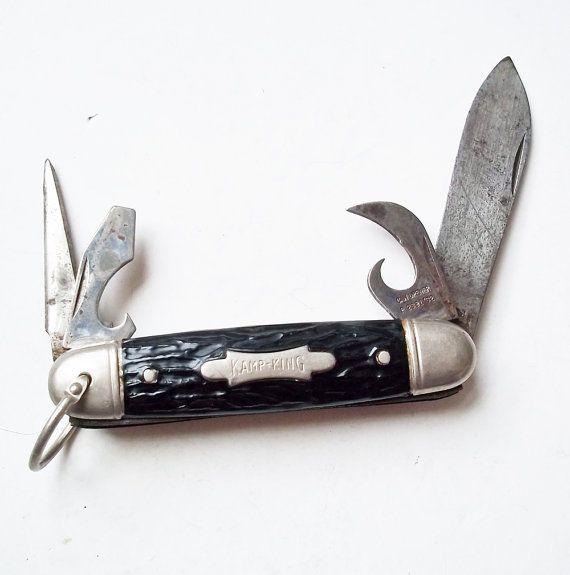 Vintage Imperial Prov Ri Kamp King 4 Blade Folding Pocket