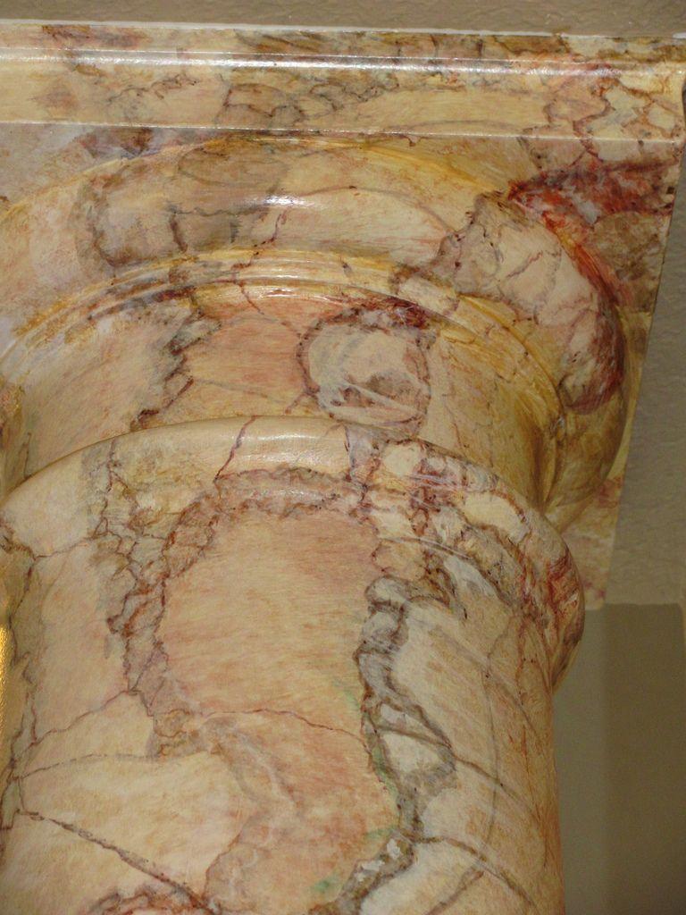 Faux Onyx Columns Faux Marble Paint Faux Painting Faux Marble