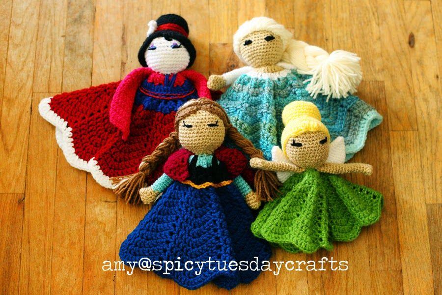 Doudou princesse | Jouet au crochet et tricot | Pinterest ...