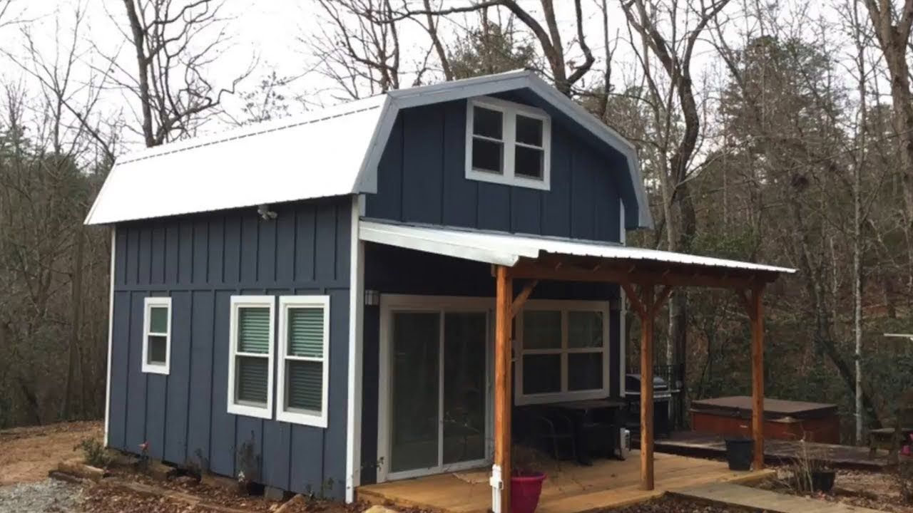 Tiny Farmhouse is Located Outside Clayton