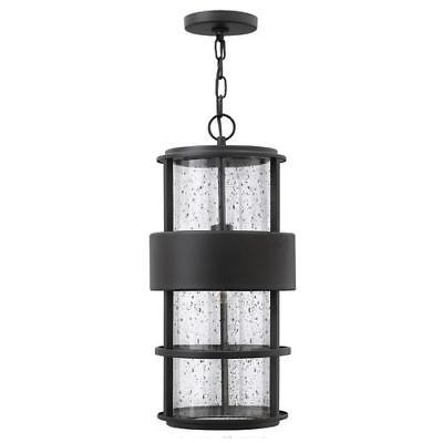 Hinkley lighting 1902sk 1 light outdoor small pendant from the saturn collection