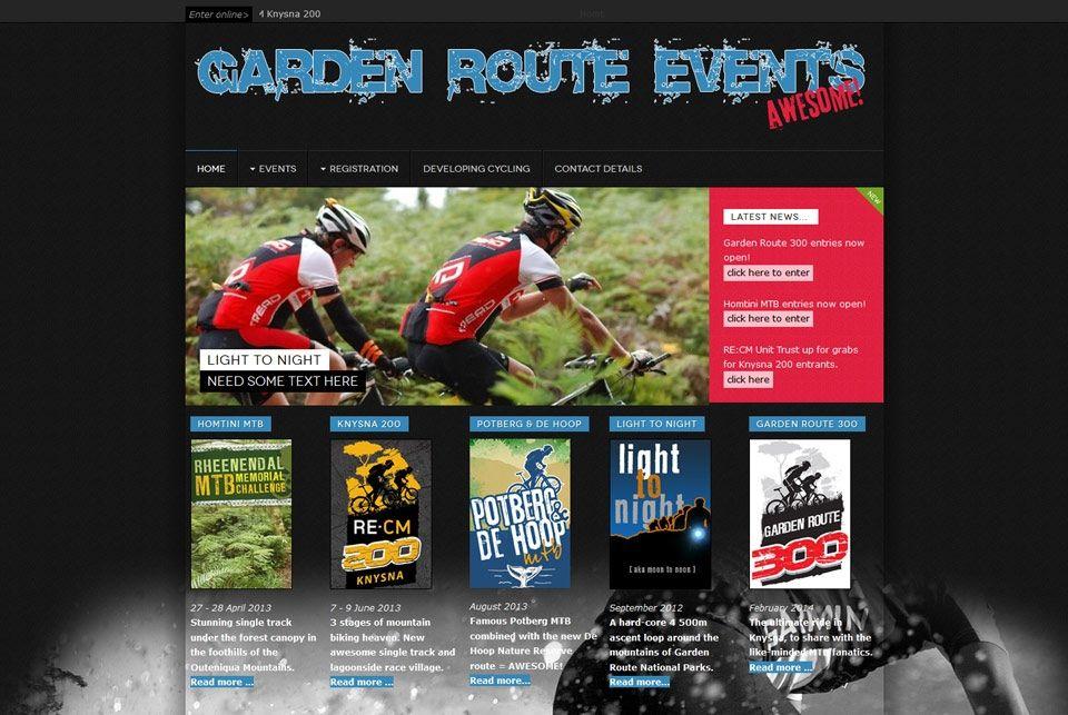 Garden Route Events Web Design Some Text Web Design Company