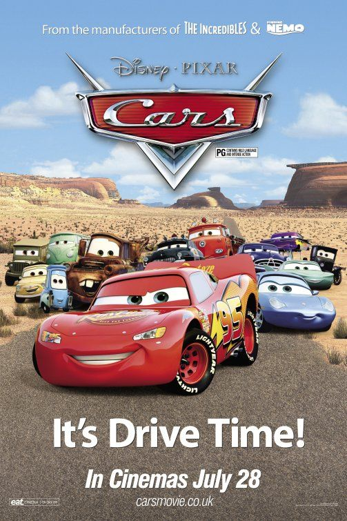 Cars Movie Poster 12 Cars Movie Disney Cars Movie Cars 2006