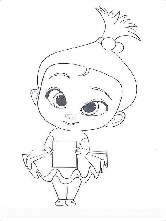 boss baby coloring pages 35