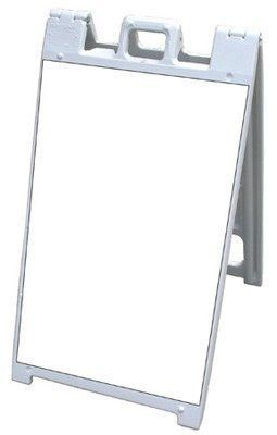 "Signicade A-Frame 24/7 24""x45"" Double Sided Sidewalk Sign W/White Corex Panels"