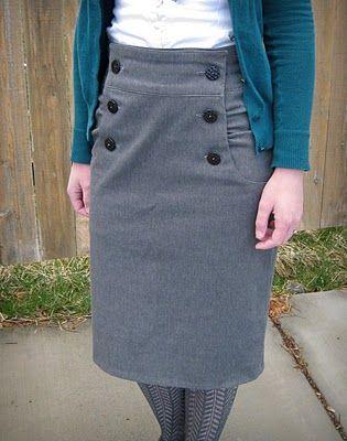 Refugee Crafter: Kasia Skirt Burda Style Pattern | community ...