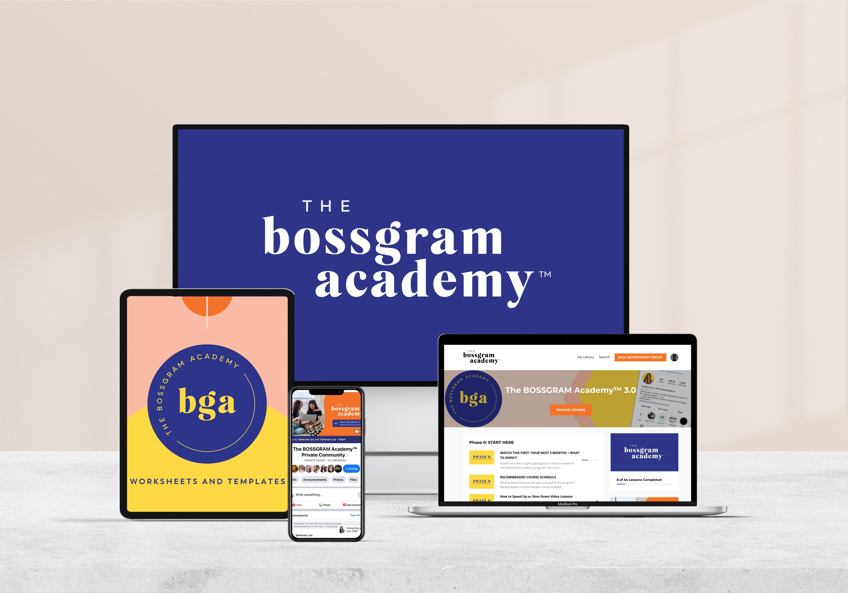 BOSSGRAM 3.0 Enrollment