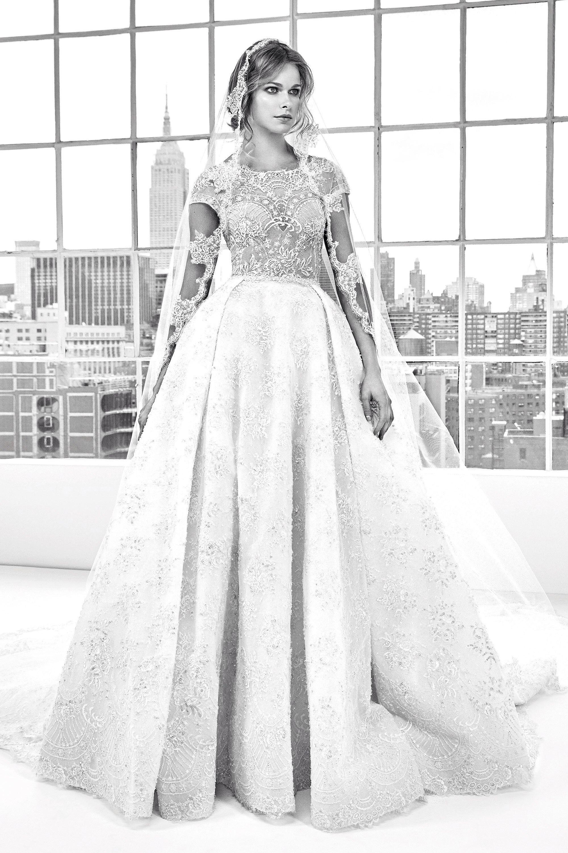 Zuhair murad bridal spring fashion show zuhair murad bridal