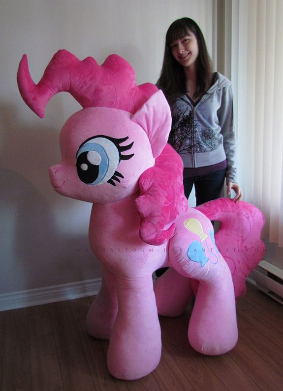 Giant Pinkie Pie Plush I Want This With All My Heart And Soul The