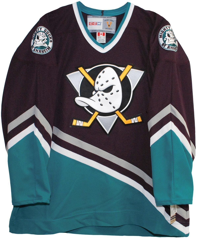 Image result for mighty ducks hockey jerseys anaheim