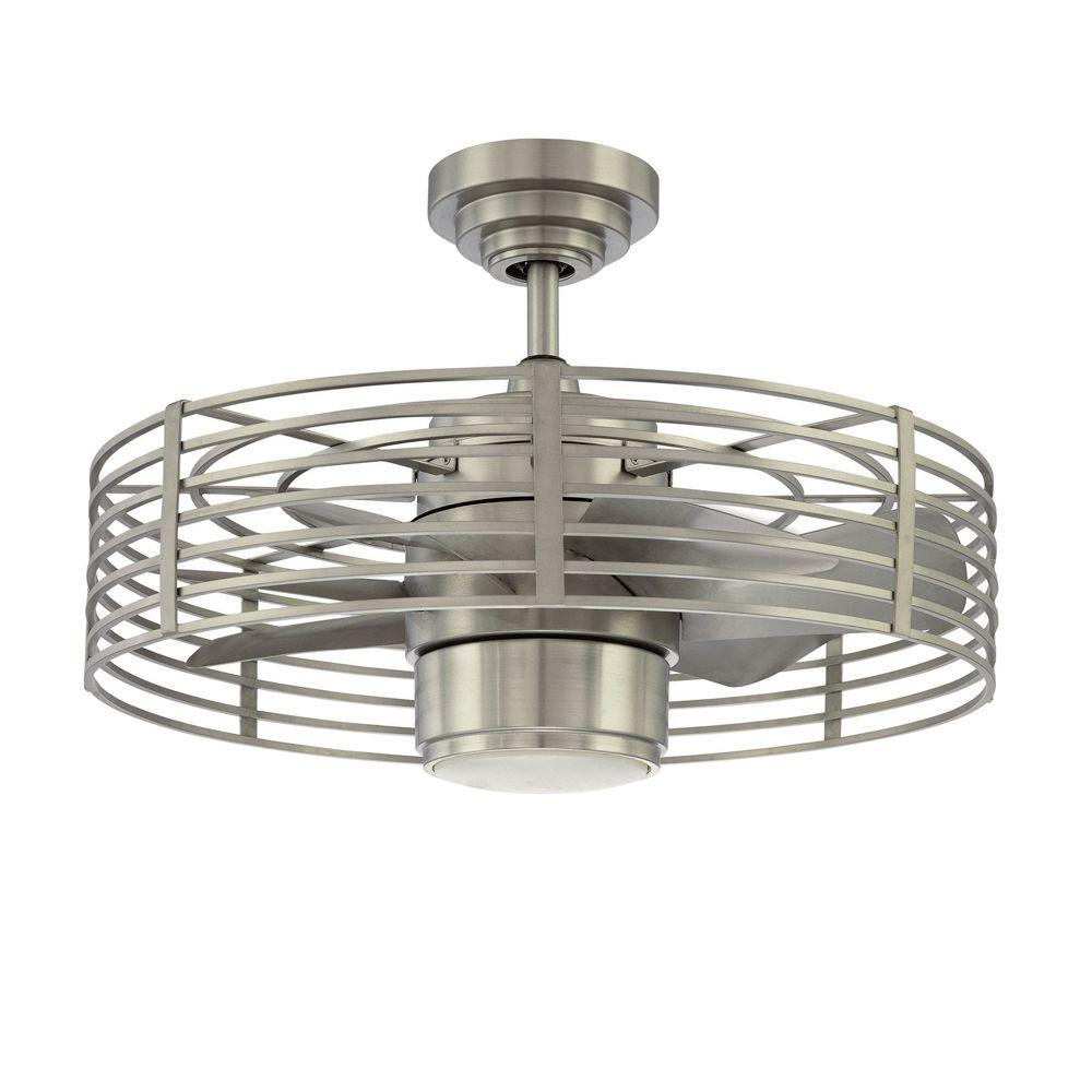 Designers Choice Collection Enclave 23 In Satin Nickel Ceiling