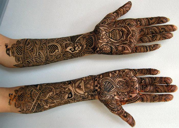 Mehndi Full Hand Bridal Design : Full hand mehndi design pattern for wedding meahndi designs