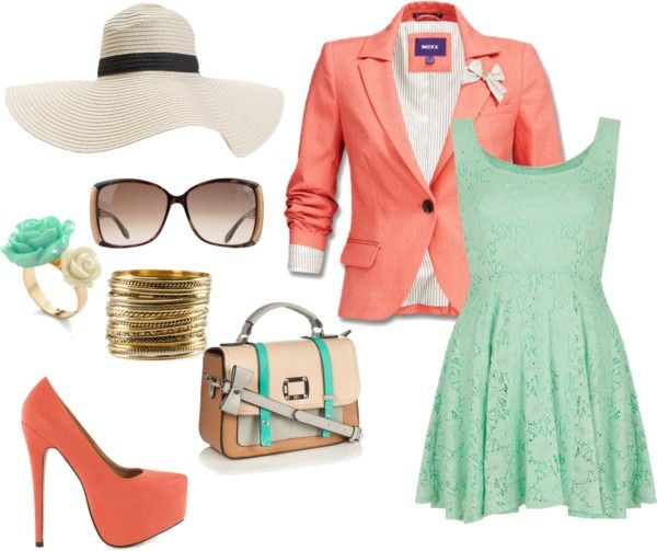 """""""sweet colors"""" by anacatariina ❤ liked on Polyvore"""