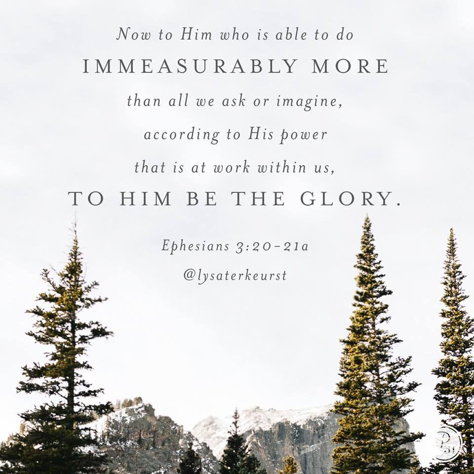 Ephesians 3:20 | Ephesians | Bible quotes, Ephesians 3 ...