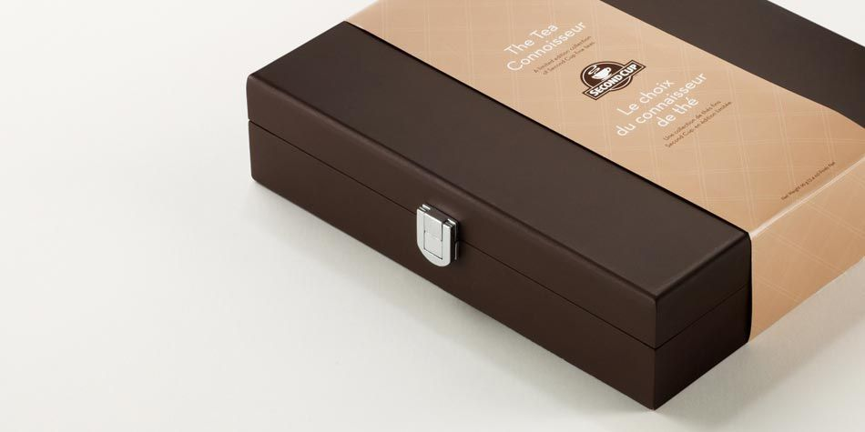 Box Of Tea With Custom Belly Band Brand Packaging Cool Packaging Belly Bands