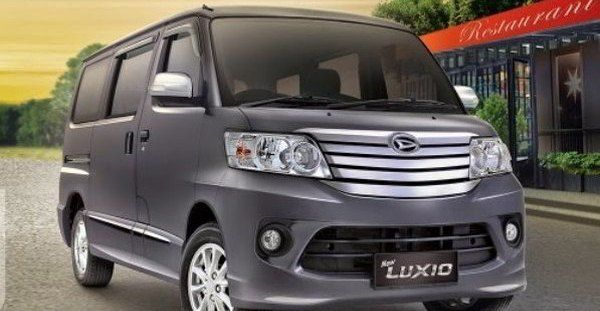Rental Sewa Mobil Luxio Jogja Murah Daihatsu 2016 8 Kursi