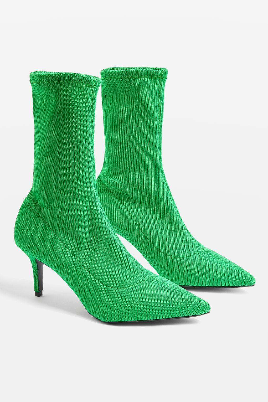 Topshop Bottines chaussettes en satin MOJITO Peu Coûteux Vente Ebay 2018 Unisexe En Ligne fvoSUfrVN