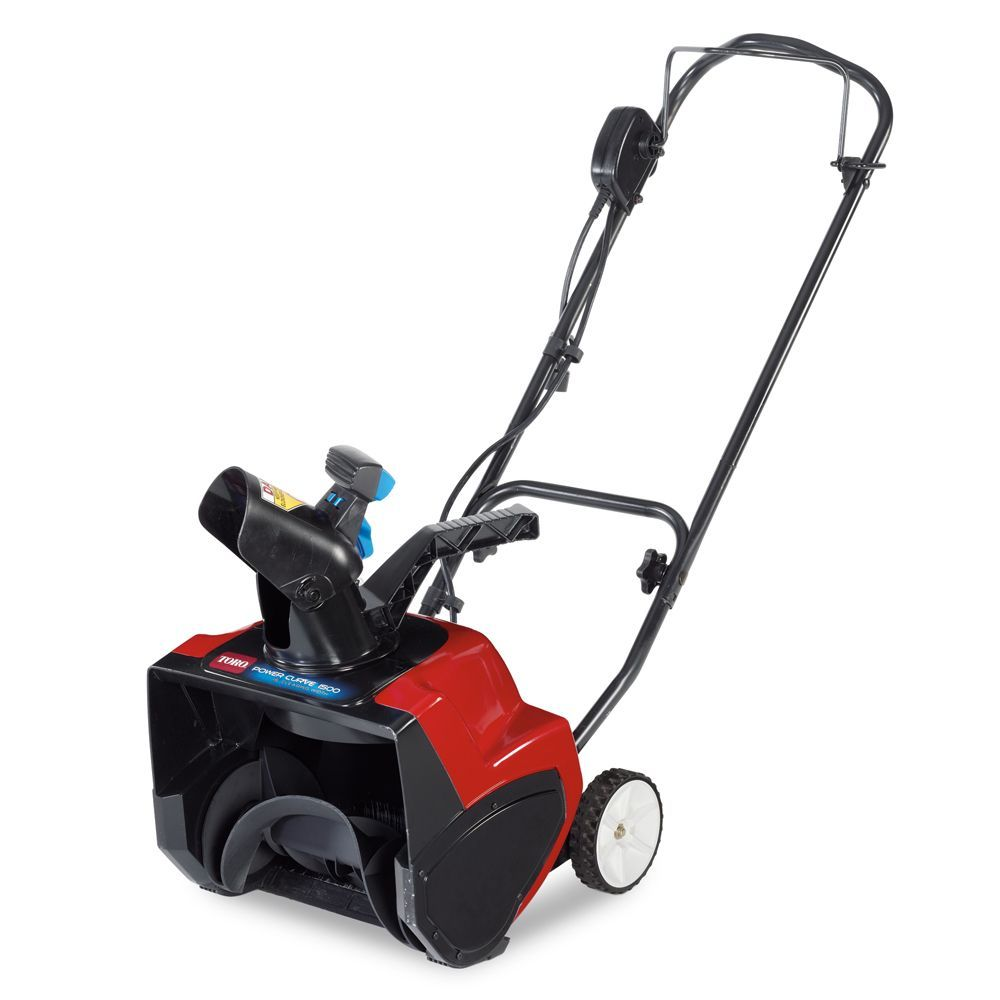 1500 Electric Power Curve Snow Blower With 15 Inch Clearing Width Electric Snow Blower Electric Snow Shovel Electric Power