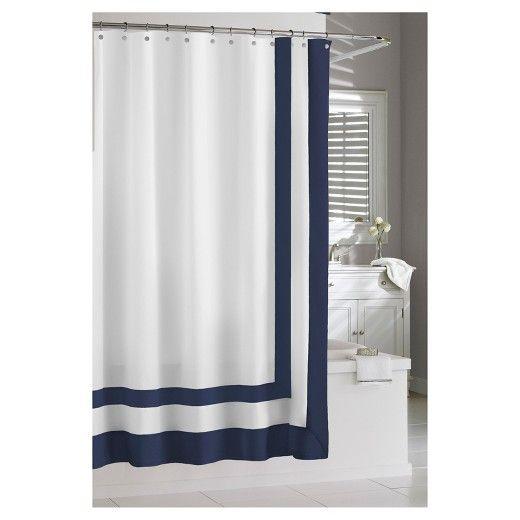 Edge Frame Shower Curtain   Kassatex®