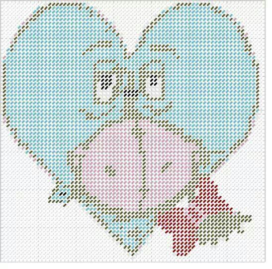 Eeyore heart WH
