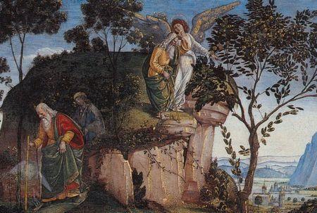 El Testamento y Muerte de Moisés, Luca Signorelli (detalle)