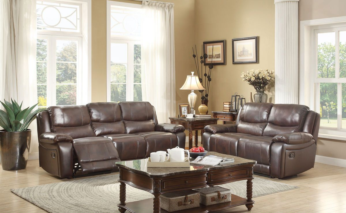 Allenwood collection double reclining love seat reclining sofa