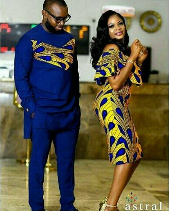 301e0619c01 African Couple Set Gift For Couples African Couple Outfits African Clothing African  Couple Wears Das