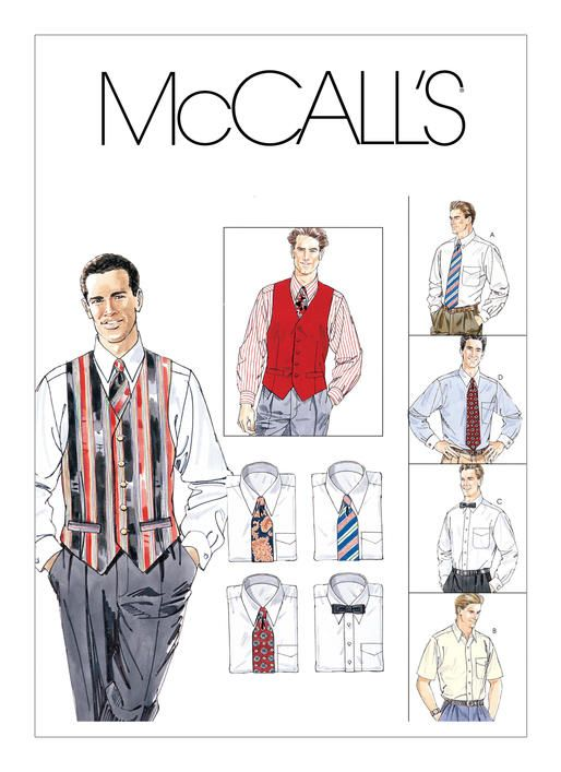 M2447 | McCall\'s Patterns | Sewing Patterns | Dapper Day ideas ...