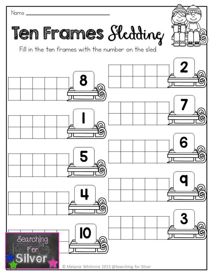 Winter Math and Literacy No-Prep {Kindergarten