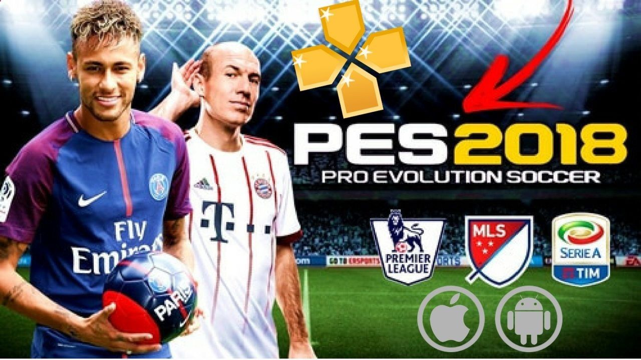 Good news to all football lovers, PES 2018 PSP PPSSPP ISO