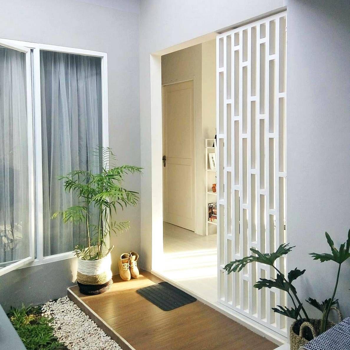 Taman minimalis dalam rumah also teralis pinterest home decor rh
