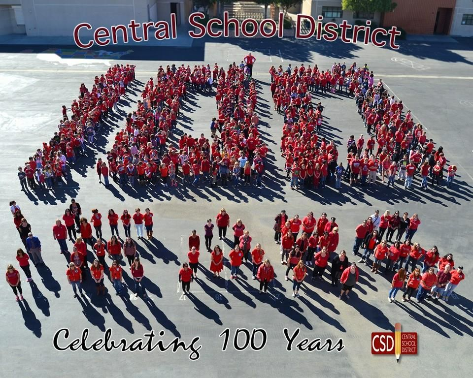 Central School District 100 Years at Coyote