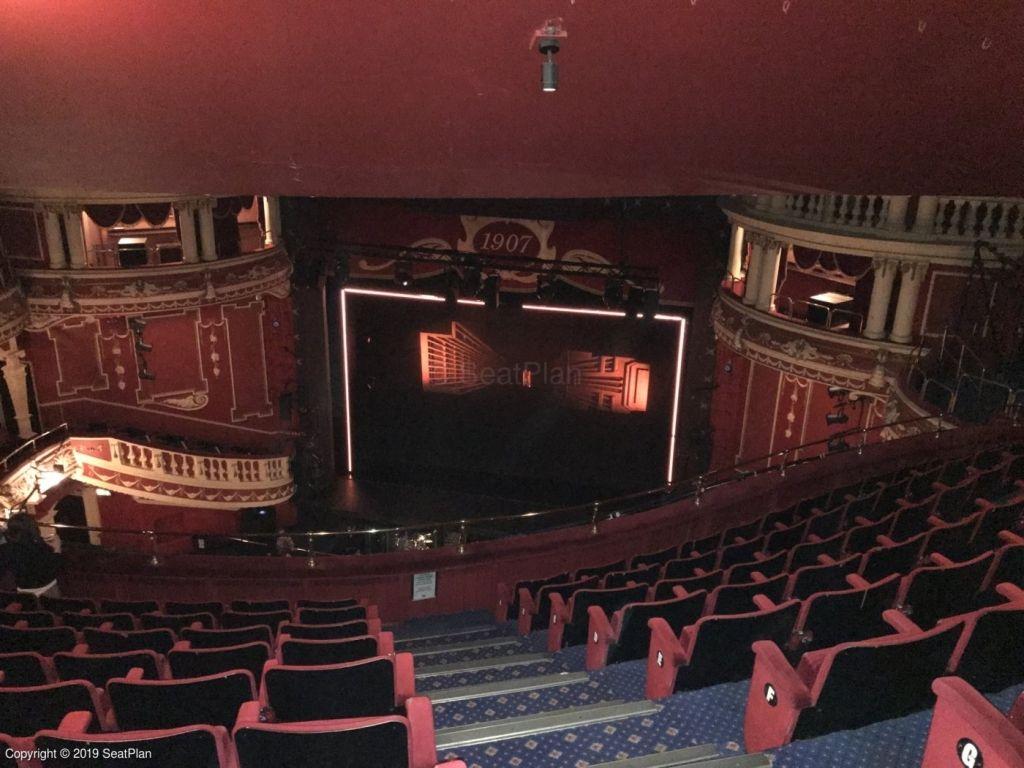 Sunderland Empire Seating Plan Seating Plan The Incredibles Theater Seating