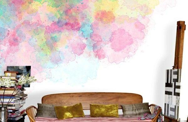 Wand Streichen Ideen Kreative Wandgestaltung Wandgestaltung Ideen