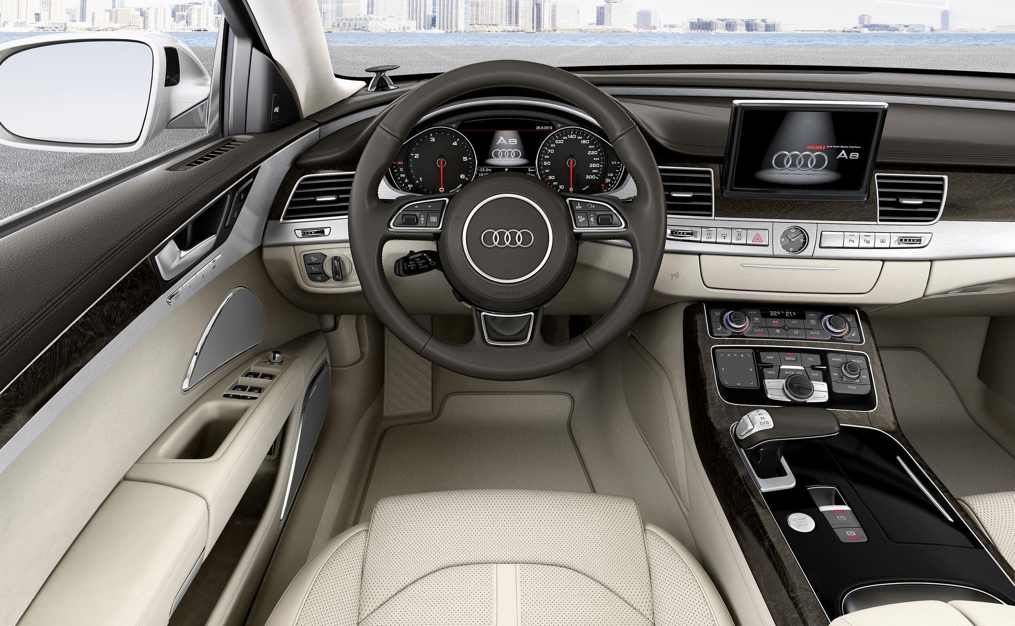 Audi A8 Tdi Quattro Audi A8 Audi Interior Audi Q3