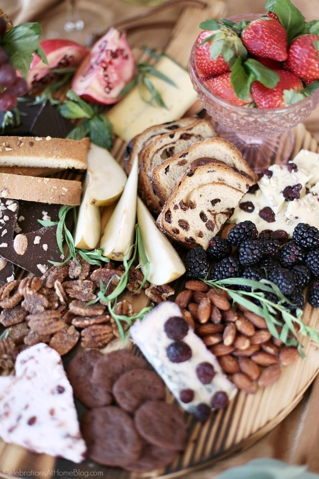 This Chocolate & Cheese Dessert Board Is The Ultimate In ...
