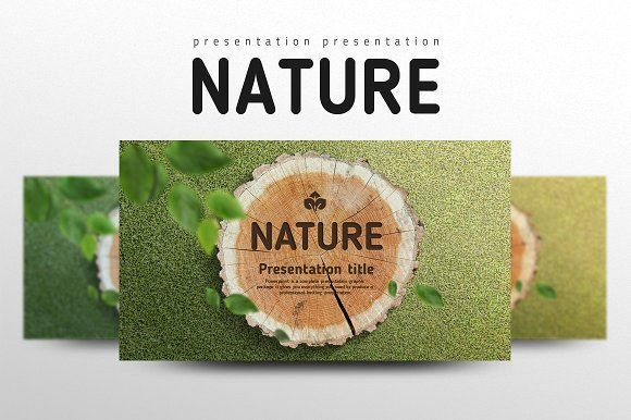 naturegood pello on @creativemarket | design | pinterest, Presentation templates