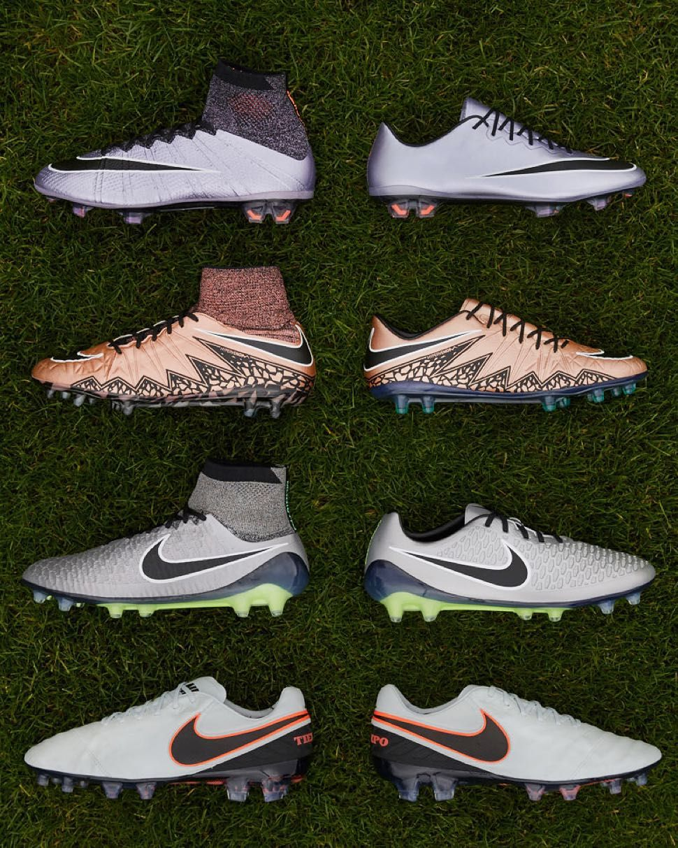 best website ab626 829ce Introducing the new Liquid Chrome Pack featuring chrome treatment on Nike  boots for the first time ever. Available November 30th exclusively in the  Nike ...