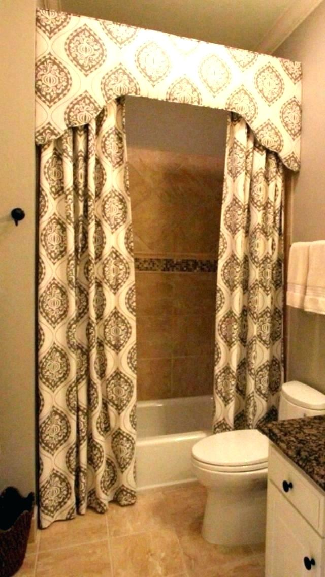 Cornice Board Ideas Custom Bathroom Custom Shower Curtains