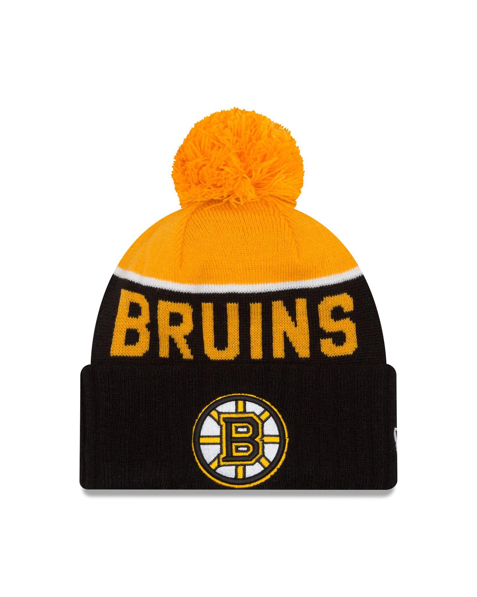 d8b5050c1ffb3 ... clearance boston bruins new era 2016 nhl sport knit hat 197a9 254ba