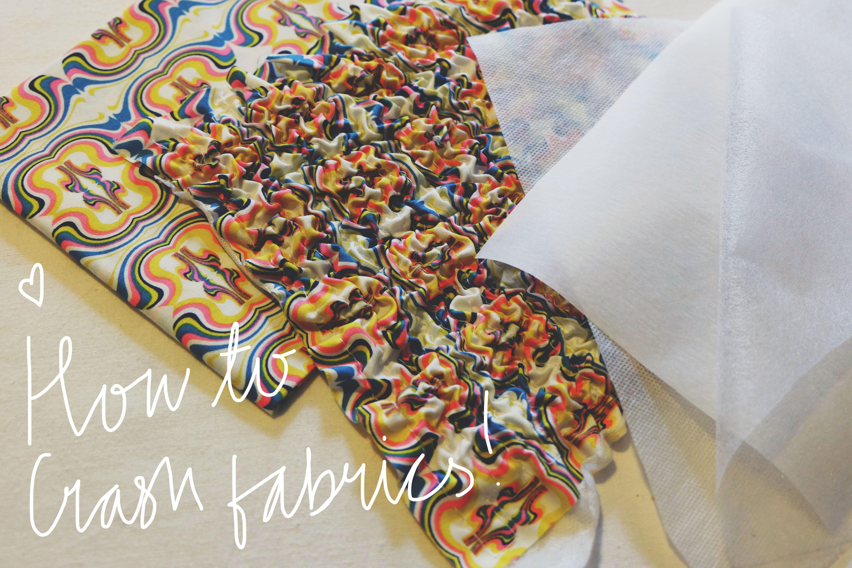 Making crash fabric craft and sewing pinterest fabrics