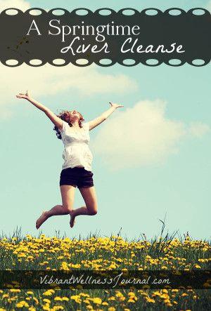 Liver Cleanse for Spring: Take the Spring Forward Detox Challenge!